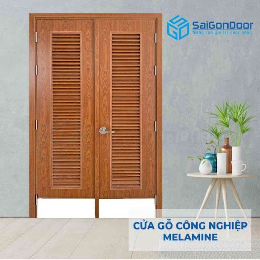 Cửa gỗ 2 cánh với nhiều ưu điểm nổi bật