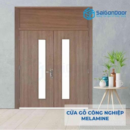 Mẫu cửa gỗ 2 cánh mới nhất 2021
