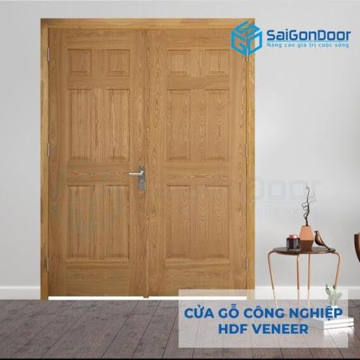 SaiGonDoor- cửa hàng bán cửa gỗ 2 cánh số một tại Long An